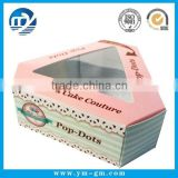 Hot Sale Cardboard Triangle Cake Box with PVC Window                                                                         Quality Choice