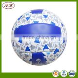 Inflatable beach custom volleyball ball yiwu , standard official professional volleyball ball training