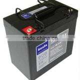 GB12-55 storage battery for generator 12v55ah industrial battery 12v rechargeable valve regulated lead acid battery