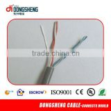 telephone cable color code\jelly filled telephone cables\solid copper 2 pair telephone cable 0.5mm