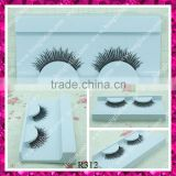 Red cherry human hair hand made false eyelashes popular in market