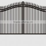 powder coated metal garden gate with low price