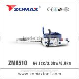 distributors 64.1cc ZM6510 3.3kw miter saw with top brand outdoor power