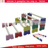 Colorful hurdle preschool kids toys Wooden hurdle colorful kide educaitonal toys