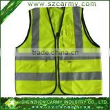 Chile Yellow high visibility warning work clothes 3M reflective security reflective vest