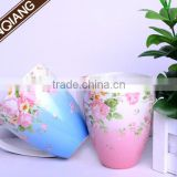 wholesale New style porcelain ceramic mug images with handle and spoon