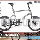 2016 8 Speeds Aluminum Alloy folding bike/ 20 inch excellent folding bike/Folding outdoor bicycle Light weight(PW-FD20504)
