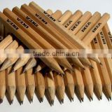 3.5inch HB mini nutural wooden lead pencil for kis