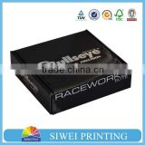 Custom Apparel Packaging Storage Paper Cardboard Box For Clothes/Luxury Clothing Packaging Box