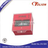 DC24V Resettable Manual Call Point Fire Alarm Pull Station
