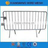 Galvanized steel crowd control barricade Used Concert Crowd Control Barriers