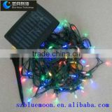 NEW 5M 50 LEDs String Fairy Lamp Solar Power RGB White Colors Lighting For Garden Christmas Party Decoration