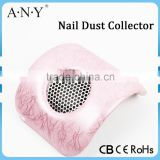 Electric Nail Table Cyclone Dust Collector With Exhaust Fan Brush Using