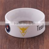 Silicone band rubber wrist band Team Instinct Wristbands for Pokemon Go rubber bracelet silicone wristband silicone band