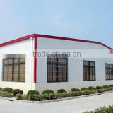 prefabricated steel warehouse / steel structure beam assembly/ cost of warehouse construction