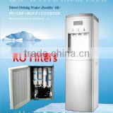 5/7 stages filters RO system hot and cool water dispenser