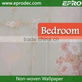 Gold Supplier non-woven material special design wall fashion wallpaper for living room decoration