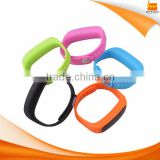 Android IOS blutooth USB sport bracelet watch, Phone call silicone energy pedometer bracelet