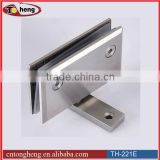 Refrigerator glass door pivot hinge
