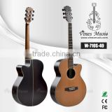 Cutaway acoustic guitar &solid top acoustic guitar