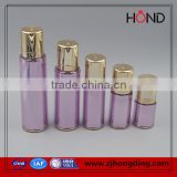 new style bottle purple color 25ml 35ml 55ml 100ml 120ml capacity bottles skincare acrylic pump bottle /cosmetic contains