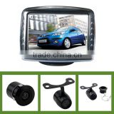 Europe rear view system with 3.5inch monitor and rearview camera