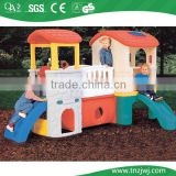 Kids playing plastic toys for indoor and outdoor playground