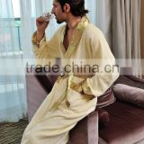 Cotton Bamboo Bathrobes Unisex bathrobe Made In China
