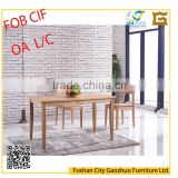 New model modern wood dinning table for dinning room sets TW5018#