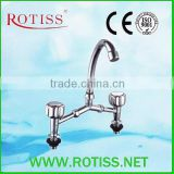 High quality RTS8837-7 double handle bridge mixer