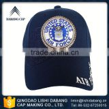Advanced equipments made embroidery logo cotton twill custom mesh baseball cap with rhinestone