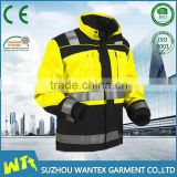 custom reflective safety motorcycle protective riding jacket