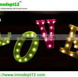 Letter Love set Wedding party decoration marquee letter decoration light