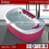 baby bath tub with stand, red children kids tub, acrylic bathtub color series thermostatic