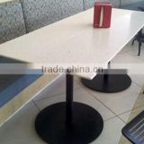 modern furniture design acrylic solid surface reception desk,solid surface dining tables