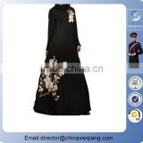 2016 Black dubai ayaba for women/abaya dubai kaftan/women farasha kaftan