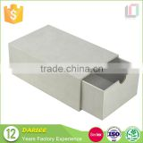 China supplier white cardboard drawer slide shape underwear packaging box design