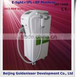 Www.golden-laser.org/2013 New Style E-light+IPL+RF Machine Bioelectrical Impedance Analyzer Beauty Equipment