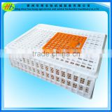 Poultry plastic chicken chick broiler layer duck pigeon dove transport cage crate case box