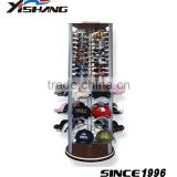 Customize glacier cap and sunglasses metal holder rack