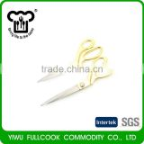 Top sale different types total metal scissors from manufacturer