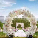 2017New design artificial wedding flower decor wedding flower door fake party decoration Wedding arches