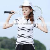 New arrive Fashion high quality good price ladies sports Polo shirt Wholesale Polo t-shirt