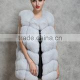 2017 Europe and the United States fur autumn and winter new whole skin faux fox fur vest female faux mink vest