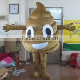 hot sale adult faeces/feces costume good quality faeces/feces mascot brown faeces/feces mascot costume