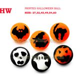 Halloween bouncy ball, party supply bounce ball, vending toy, capsule toy