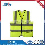 CE safety sun heat reflective fabric vest