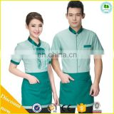 The Best Quality Waiter And Waitress Uniform Design, Restaurant Uniform Trade Assurance Supplier