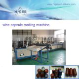 Full automatic 100 capsules per minute pure water Wine Big Bottle Cap Cork Making Plant QY100-2