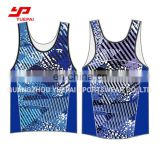 Custom Sublimate Digital Printing Summer Sexy Men Fitness Sport Sleeveless Vest Singlet Gym Tank Tops
